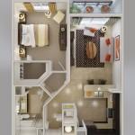 """Căn hộ chung cư 1 phòng ngủ – """"Thấu hiểu"""" cuộc sống hiện đại (P.2)"""