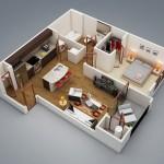 """Căn hộ chung cư 1 phòng ngủ – """"Thấu hiểu"""" cuộc sống hiện đại (P.1)"""