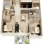 Căn hộ chung cư 2 phòng ngủ – sự lựa chọn lý tưởng (P.2)