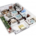 Chung cư 3 phòng ngủ – cho cuộc sống hiện đại hoàn hảo (P.1)