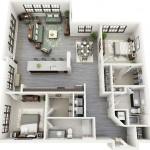 Căn hộ chung cư 2 phòng ngủ – sự lựa chọn lý tưởng (P.3)