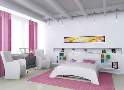 Những không gian nhỏ như phòng ngủ thường được thửa đồ để phù hợp cấu trúc mặt bằng và tận dụng tối đa diện tích, không gian.