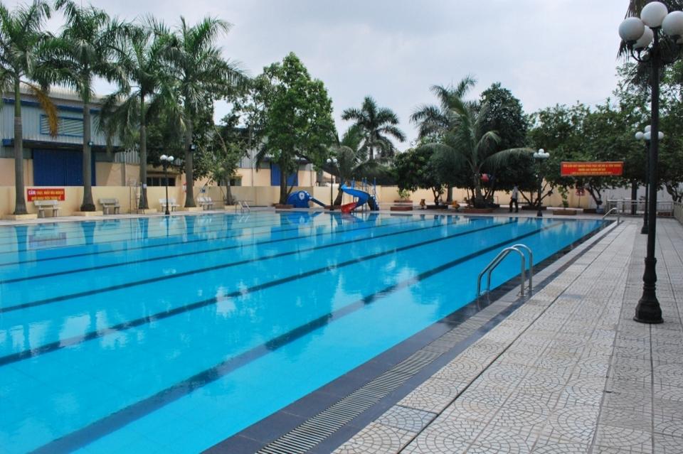 Chi phí xây dựng bể bơi, hồi vốn sau 2- 3 năm hoạt động