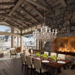 Chiêm ngưỡng vẻ đẹp hút hồn của nội thất khu nghỉ dưỡng bên hẻm núi