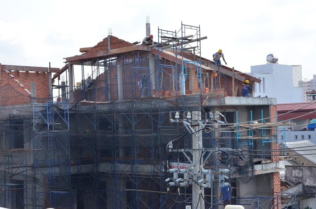 nhiều công trình chưa được nộp phạt do xây dựng sai giấy phép
