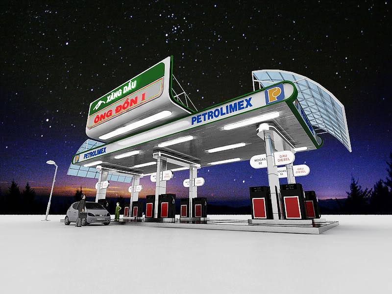Thủ tục xin phép xây dựng cây xăng dầu