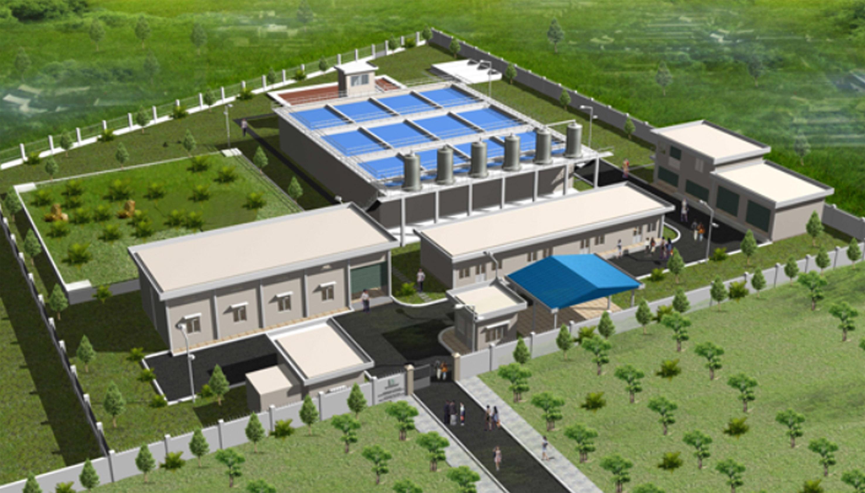 xây dựng nhà máy trái phép trên đất nông nghiệp.