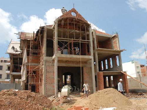 Xử phạt do việc xây nhà sai giấy phép