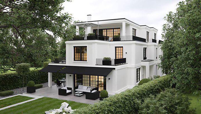 Kiến trúc đơn giản, ấn tượng