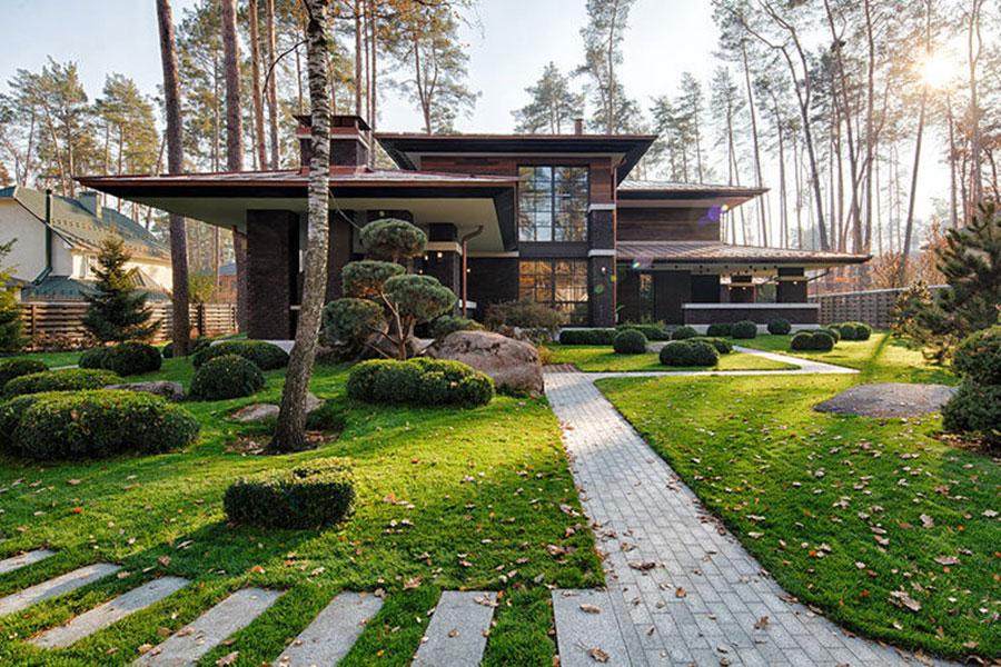 Biệt thự nhà vườn kiểu Nhật gần gũi với thiên nhiên
