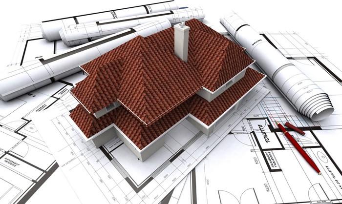 các bước và hoàn công xây dựng nhà ở.