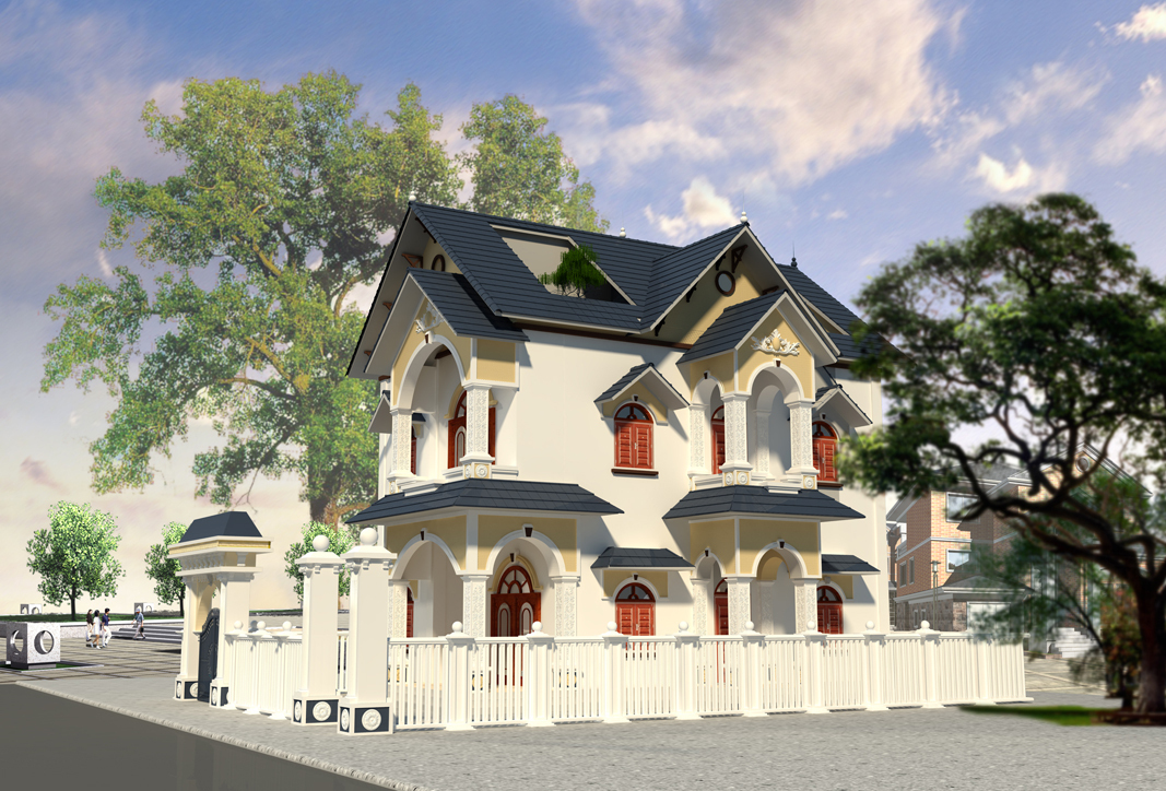 dịch vụ thiết kế nhà và thi công xây dựng trọn gói tại mê linh.