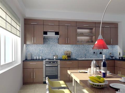 """""""Phòng ăn"""" được thiết kế lồng trong không gian bếp"""