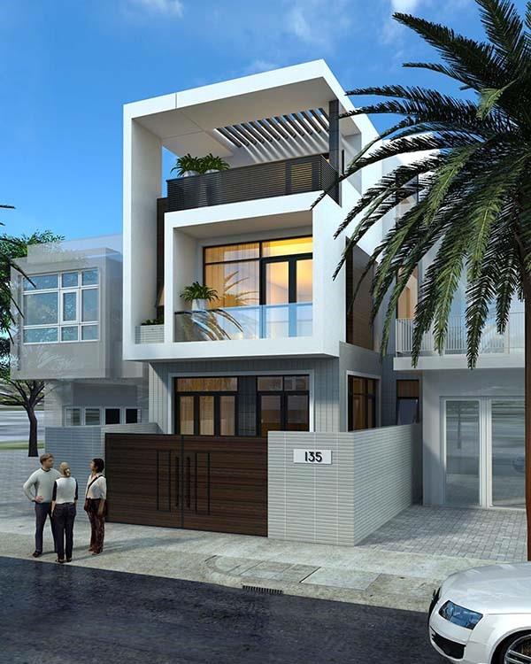 Thiết kế nhà 2 tầng đảm bảo công năng sử dụng cho gia đình có nhiều thành viên
