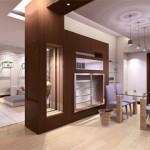 Ngăn chia không gian trong nhà chung cư