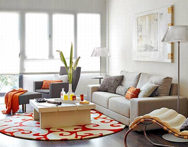 Sofa dáng dài thích hợp với diện tích phòng khách chung cư hạng trung