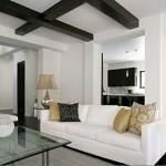 Phối mầu đen trắng cho căn hộ thêm lịch lãm và sang trọng