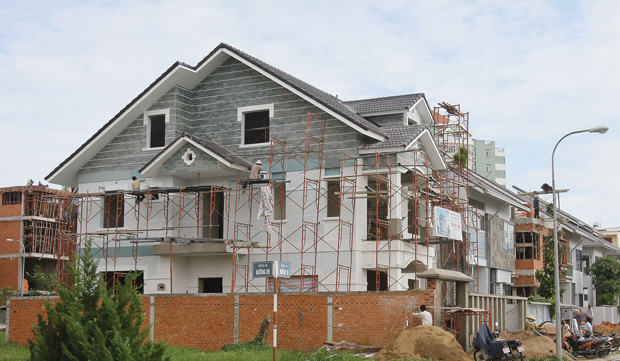 cho hàng xóm mượn tường xây nhà