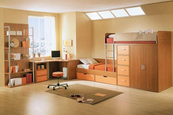 Bạn có thể sử dụng màu sắc sinh động cho phòng của trẻ.