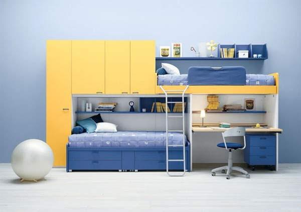 Nội thất đa chức năng sẽ giúp không gian nhà bạn trông gọn gàng và rộng hơn.