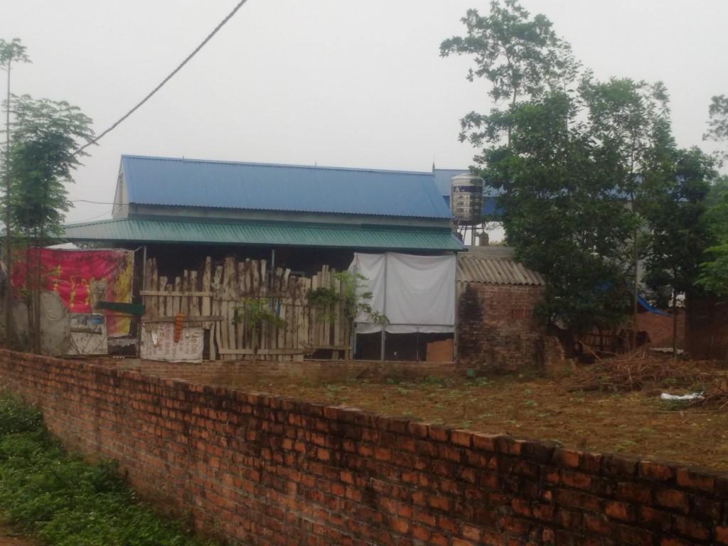 xây dựng nhà trái giấy phép trên đất lấn chiếm tại sóc sơn