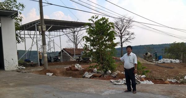 xây dựng nhà trái phép trên đất người khác